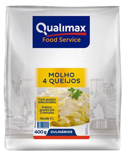Molho 4 Queijos Qualimax 400g